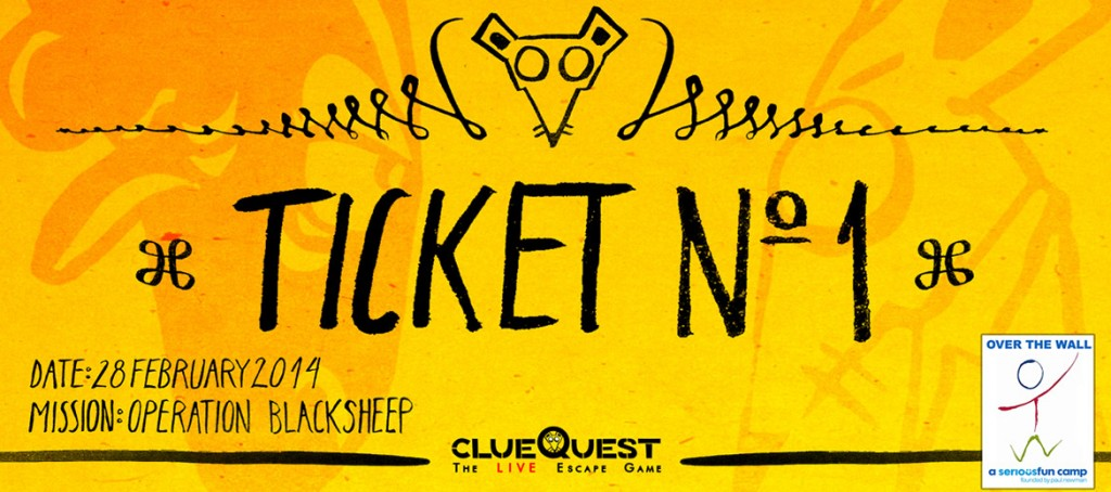 ClueQuest number one ticket
