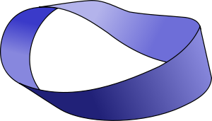 Mobius strip graphic