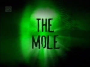 """The Mole logo from Channel 5"