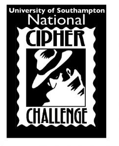 An old logo for the University of Southampton's National Cipher Challenge