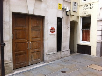 The exterior of Escape Hunt at George Yard