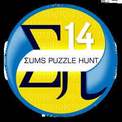 SUMS puzzle hunt logo