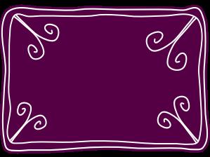 Blank purple voucher