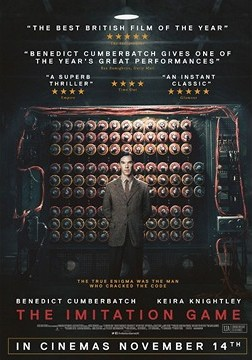 """The Imitation Game"" theatrical release poster"