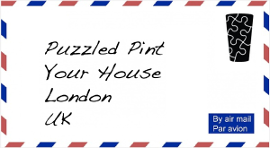 Puzzled Pint envelope