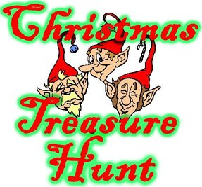 """Christmas Treasure Hunt"""