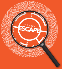The Great Escape game logo
