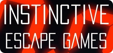 """Instinctive Escape Games"" logo"
