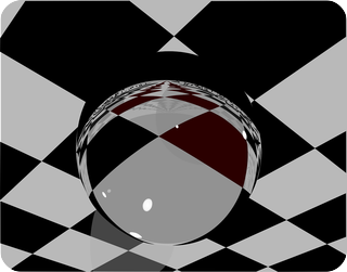 A rotated crystal ball