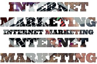 """Internet marketing"" computer keyboard graphic"