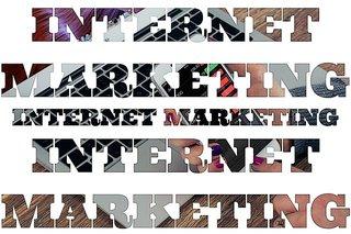 """Internet marketing"" computer keyboard graphic"