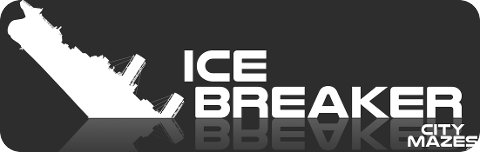 The Cardiff Maze: Ice Breaker logo