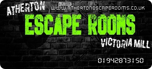 Atherton Escape Rooms graphic