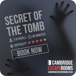Cambridge Escape Rooms graphic