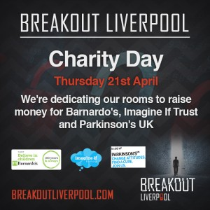 Breakout Liverpool Charity Day details