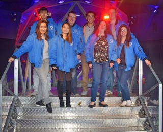 Blue Team at The Crystal Maze
