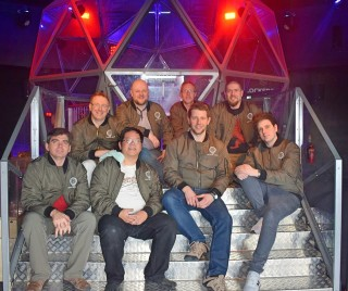 Green Dreams at The Crystal Maze