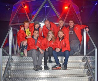 Team Breakout at The Crystal Maze