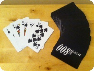 DASH 8 deck of cards